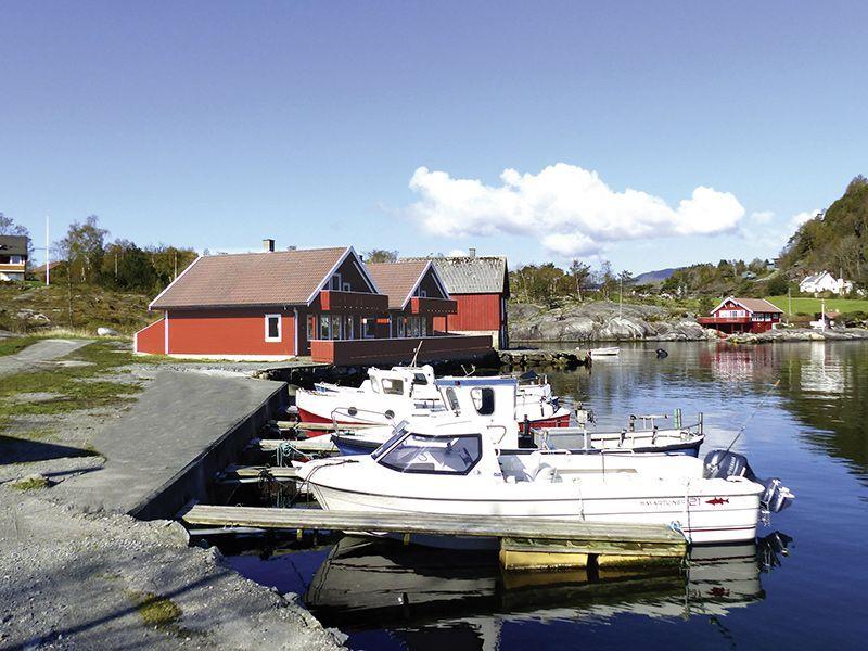Ferienhäuser Hebnes (Bootshafen)