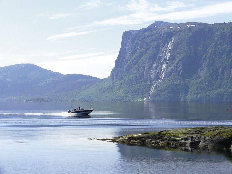 Fjordkick Sørbøvåg Panorama