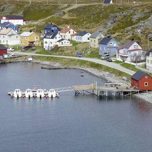 Angelreisen Norwegen 44001-44010 Havøysund Sjøhus Panorama