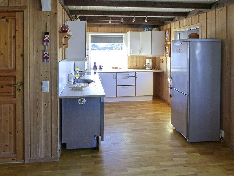 Angelreisen Norwegen 41081 Brandasund Küche
