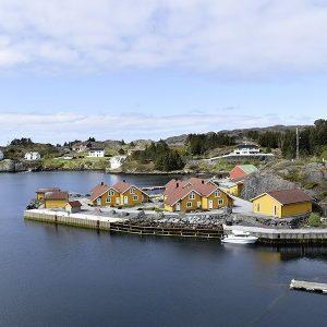 Angelreisen Norwegen 41361-41364 Hjønnevåg Rorbuer Ansicht