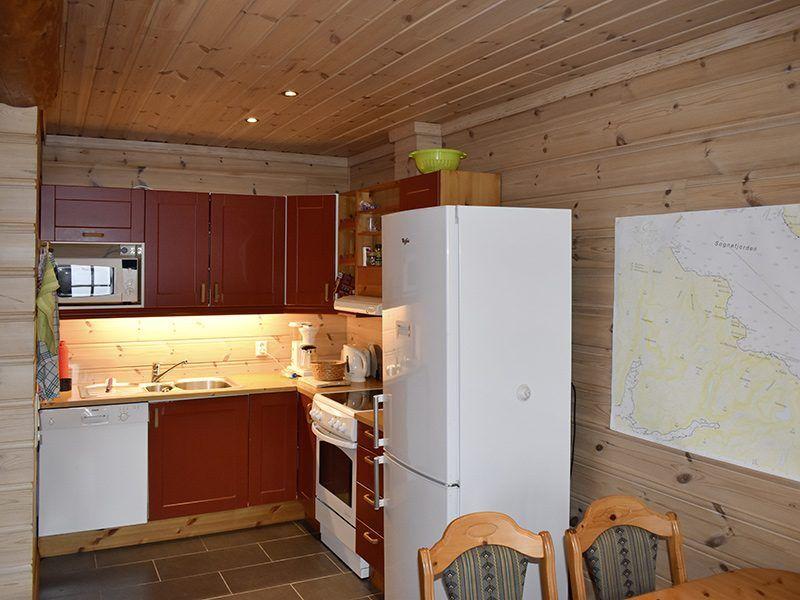 Angelreisen Norwegen 41391-41392 Hjartholm Feriehytter Küche