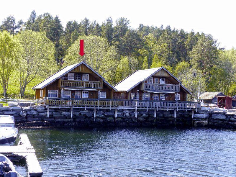 Angelreisen Norwegen 41873 Nesøya Brygge Ansicht