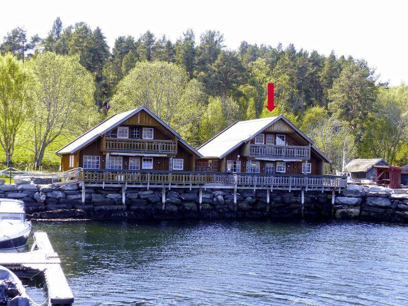 Angelreisen Norwegen 41874-41875 Nesøya Brygge Ansicht