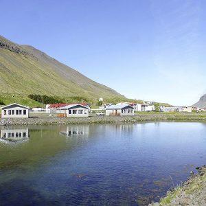 Angelreisen Island 6100 Sudureyri Hütten Ansicht