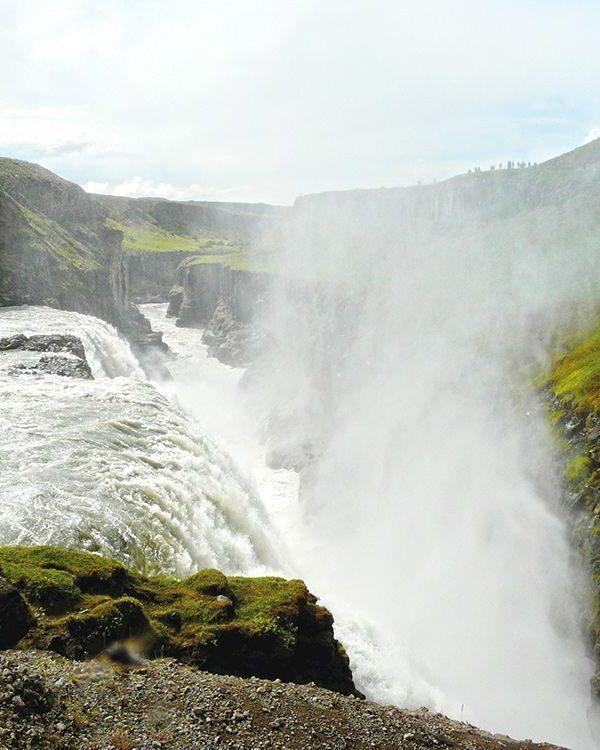 Island Wasserfall Landschaft 2012