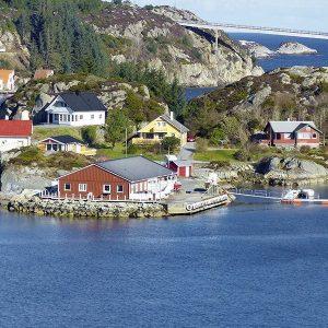 Angelreisen Norwegen 41081-083 Brandasund Panorama E