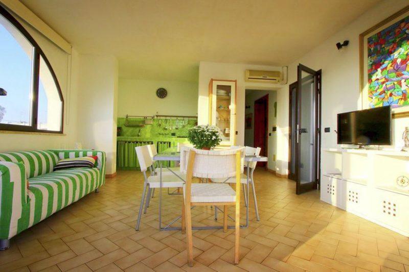 Angelreisen Italien 1005 Torre Pali Wohnen + Küche