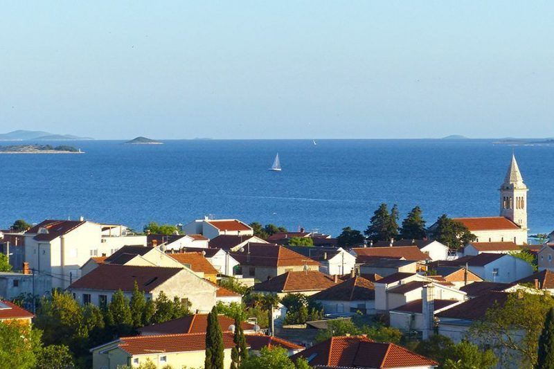 Angelreisen Kroatien 1501-1502 Pakostane Aussicht auf die Adria