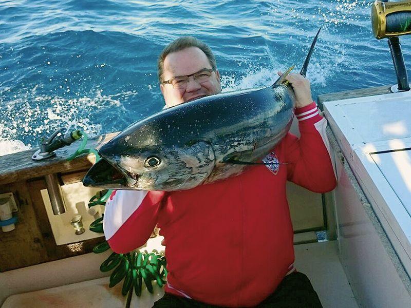 Angelreisen Kroatien 1501-1502 Pakostane Thunfisch
