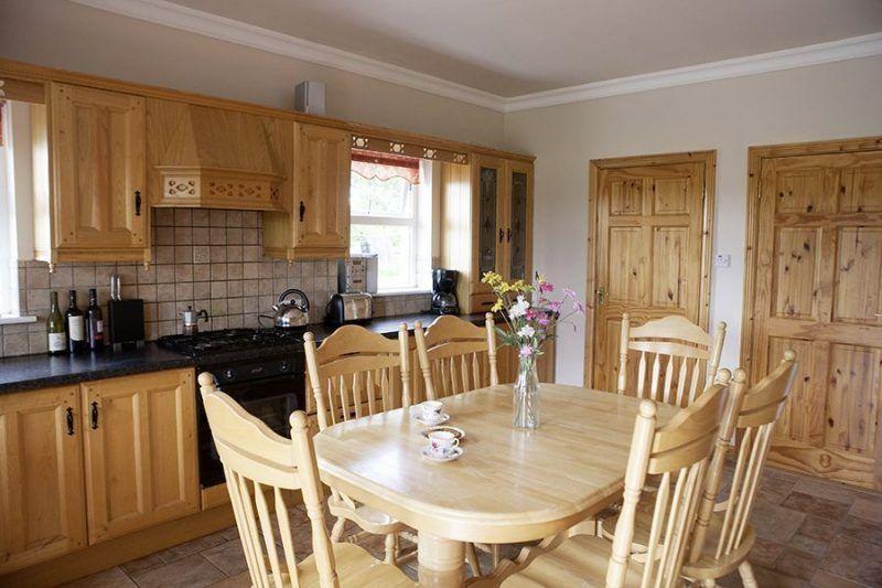 Angelreisen Irland 3070 Grange Lodge Küche