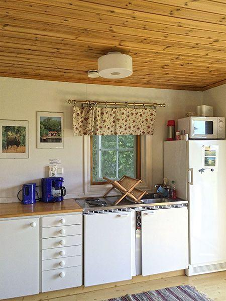 Angelreisen Schweden 7051 Ferienhäuser Urshult Küche