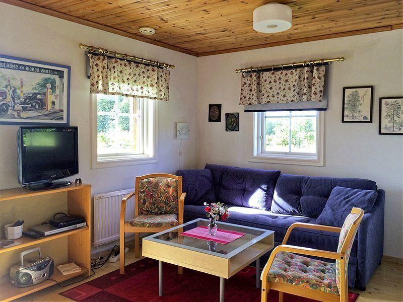 Angelreisen Schweden 7051 Ferienhäuser Urshult wohnen