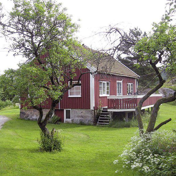 Angelreisen Norwegen 40071 Røsstad Hytter Haus Ansicht1