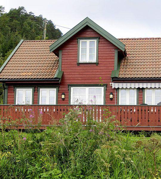 Angelreisen Norwegen 40072+075 Røsstad Hytter Haus