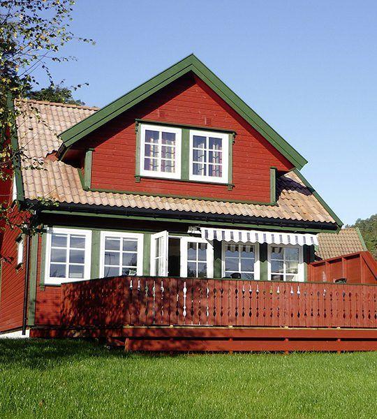 Angelreisen Norwegen 40073 Røsstad Hytter Haus
