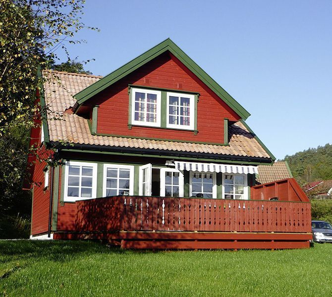 Angelreisen Norwegen 40073 Røsstad Hytter Ansicht