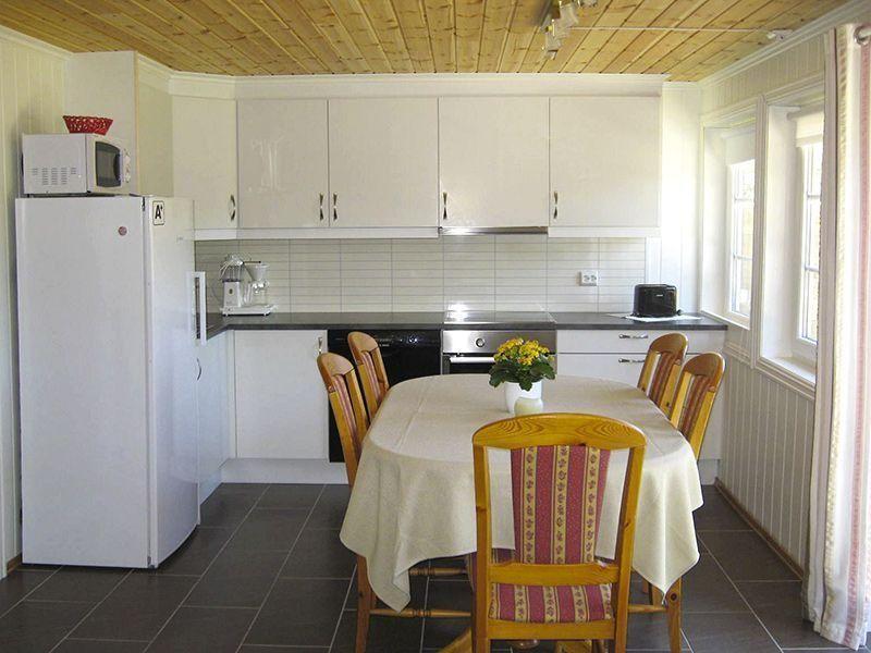 Angelreisen Norwegen 40073 Røsstad Hytter Küche