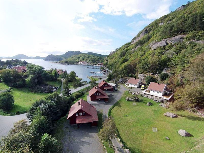 Angelreisen Norwegen 40080-093 Bjørnevåg Ferie Fjordblick