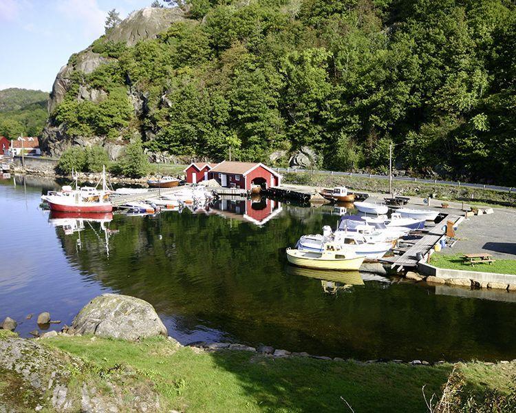 Angelreisen Norwegen 40080-093 Bjørnevåg Ferie Hafen