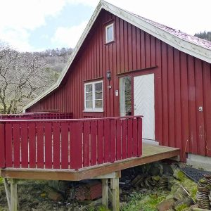 Angelreisen Norwegen 40080 Bjørnevåg Ferie Haus-Ansicht