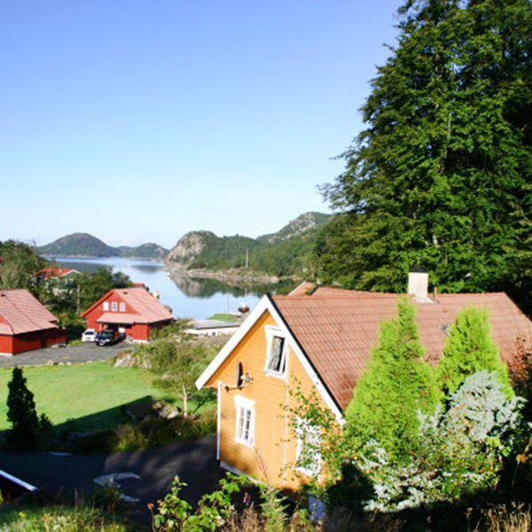 Angelreisen Norwegen 40081 Bjørnevåg Ferie Aussicht