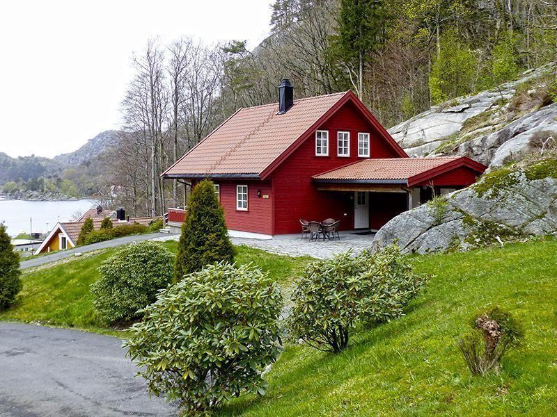 Angelreisen Norwegen 40082 Bjørnevåg Ferie Aussicht