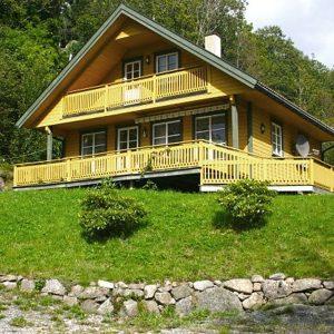 Angelreisen Norwegen 40083 Bjørnevåg Ferie Haus Ansicht