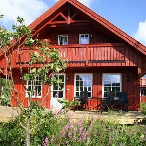 Angelreisen Norwegen 40090 Bjørnevåg Ferie Haus-Ansicht