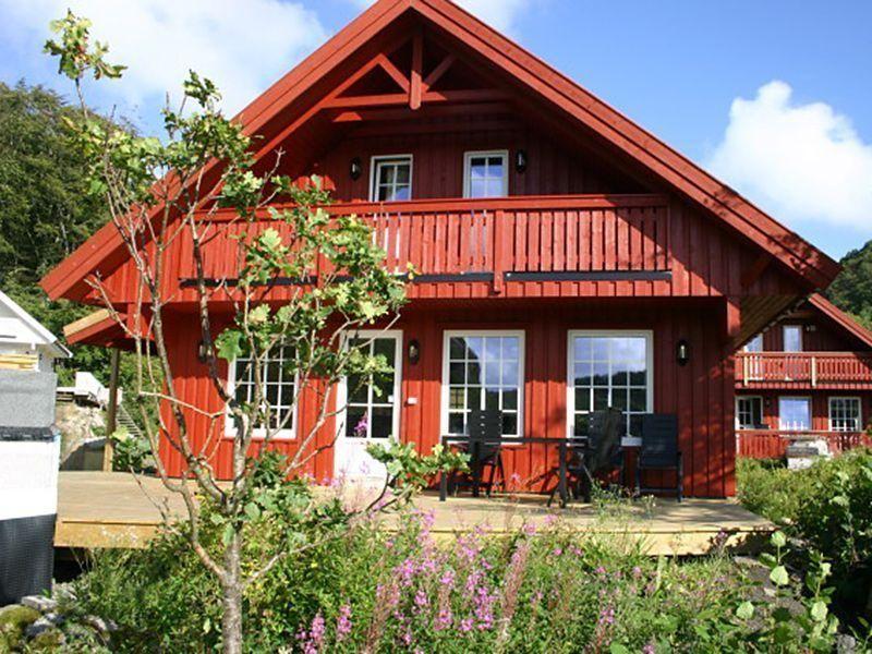 Angelreisen Norwegen 40090 Bjørnevåg Ferie Haus Ansicht