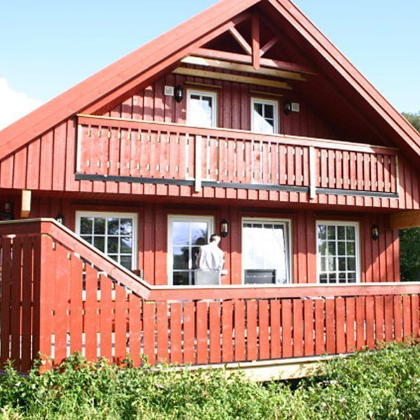 Angelreisen Norwegen 40091+092 Bjørnevåg Ferie Ansicht