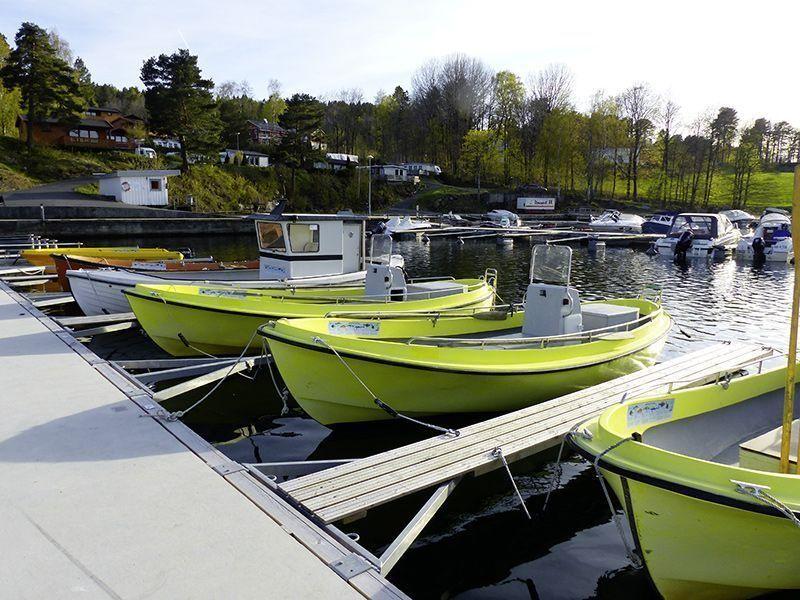 Angelreisen Norwegen 40130-40137 Sørlandet Feriesenter Hafen