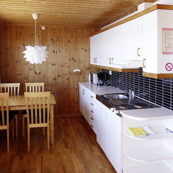 Angelreisen Norwegen 40301-305 Kvitsøy Maritime Senter Küche