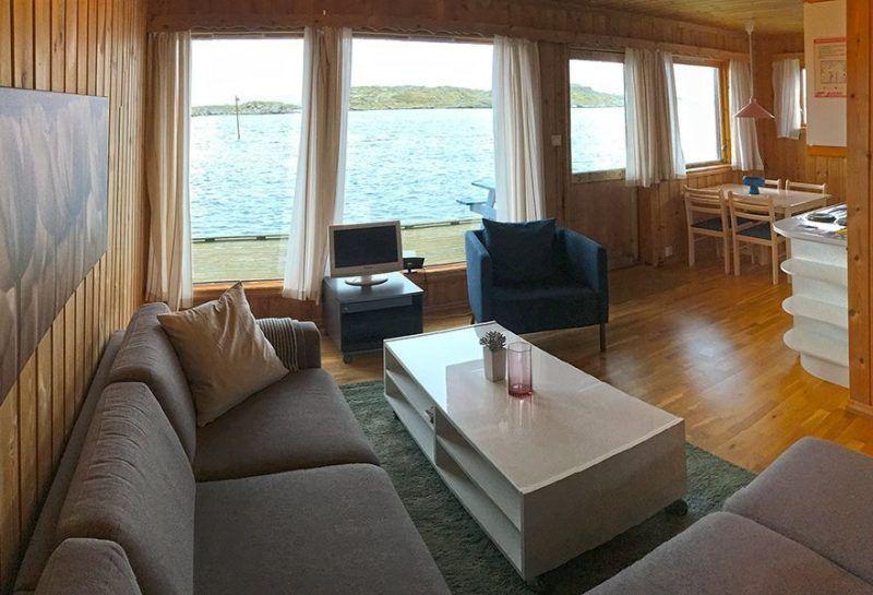 Angelreisen Norwegen 40301-316 Kvitsøy Maritime Senter Wohnen Essen