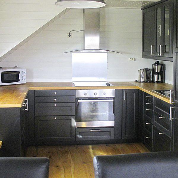 Angelreisen Norwegen 40322 Kvitsøy Küche