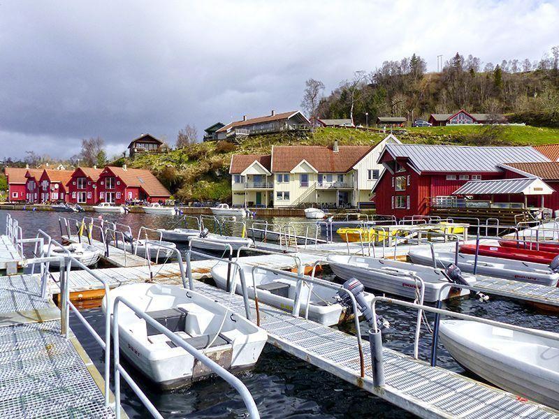 Angelreisen Norwegen 40411-428 Furre Hytter Hafen2