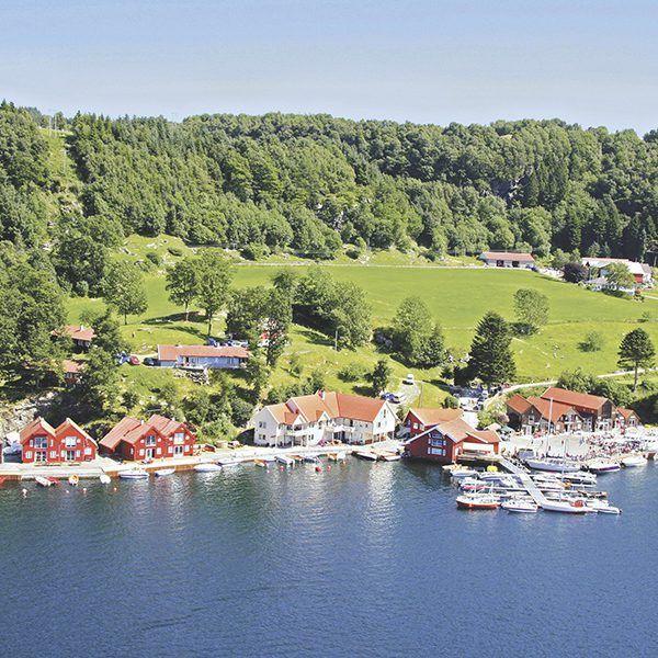 Angelreisen Norwegen 40411-428 Furre Hytter Luftbild