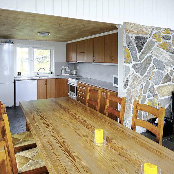 Angelreisen Norwegen 40418 Furre Hytter Küche+Essen