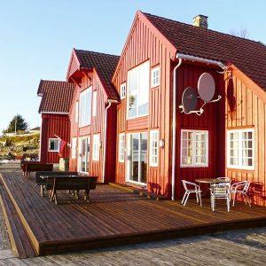 Angelreisen Norwegen 40420-421 Furre Hytter Ansicht1