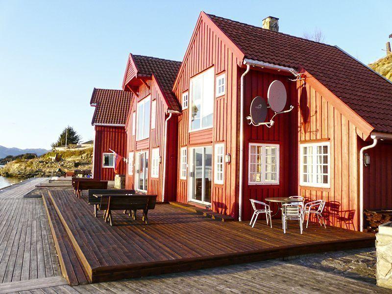 Angelreisen Norwegen 40420-40421 Furre Hytter Ansicht