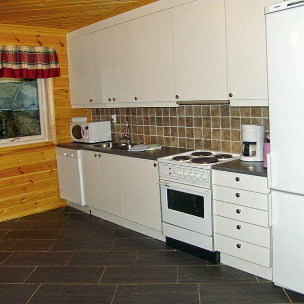 Angelreisen Norwegen 40422 Furre Hytter Küche