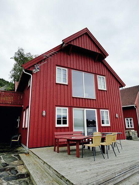 Angelreisen Norwegen 40428 Furre Hytter Ansicht