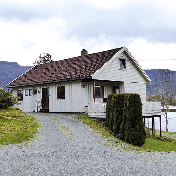 Angelreisen Norwegen 40560 Grønnevik Haus_Ansicht