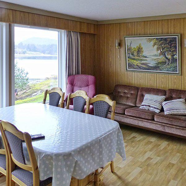 Angelreisen Norwegen 40560 Grønnevik Wohnen+Essen