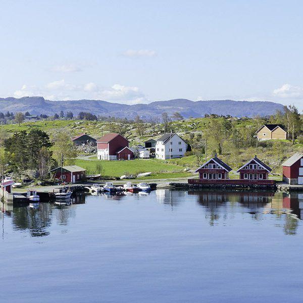 Angelreisen Norwegen 40601-604 Hebnes Überblick
