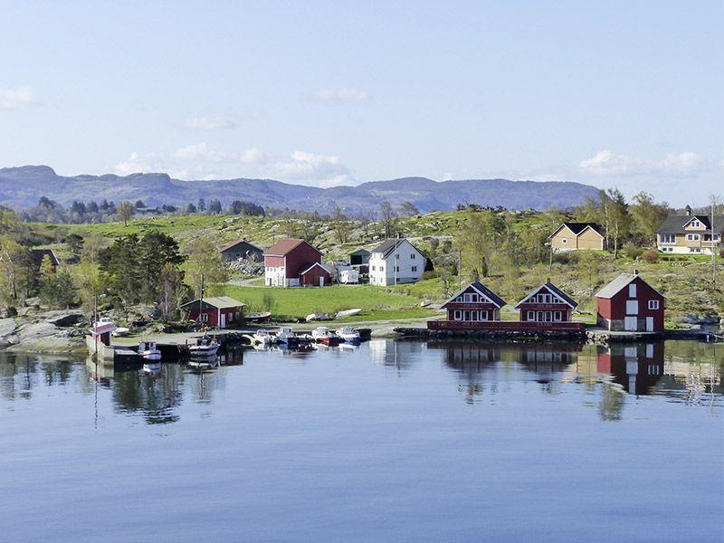 Angelreisen Norwegen 40601-40604 Hebnes Überblick
