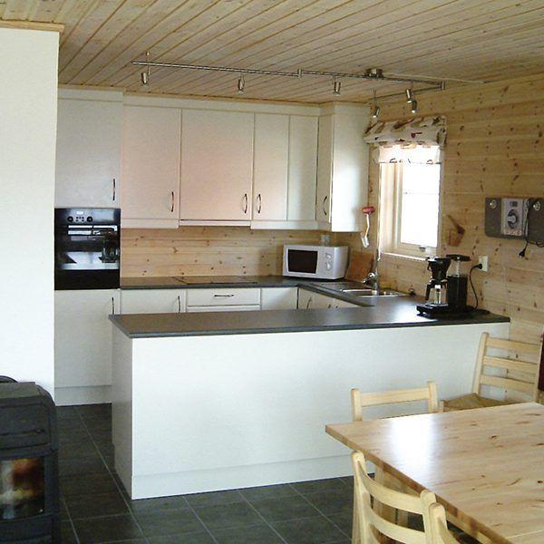 Angelreisen Norwegen 40603-604 Hebnes Küche