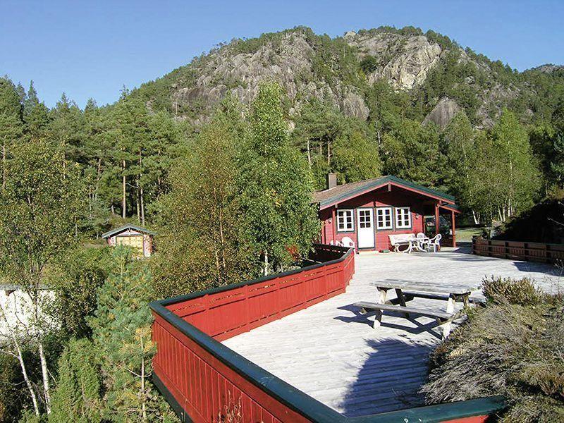 Angelreisen Norwegen 40651 Ropeid Terrasse2