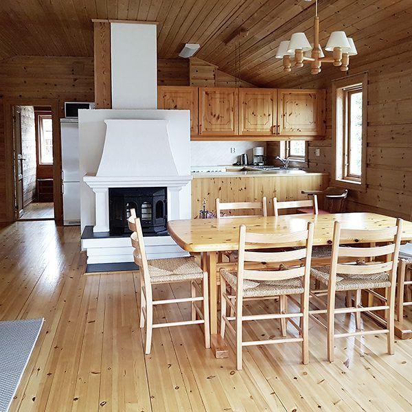 Angelreisen Norwegen 40652 Ropeid Kamin+Essen