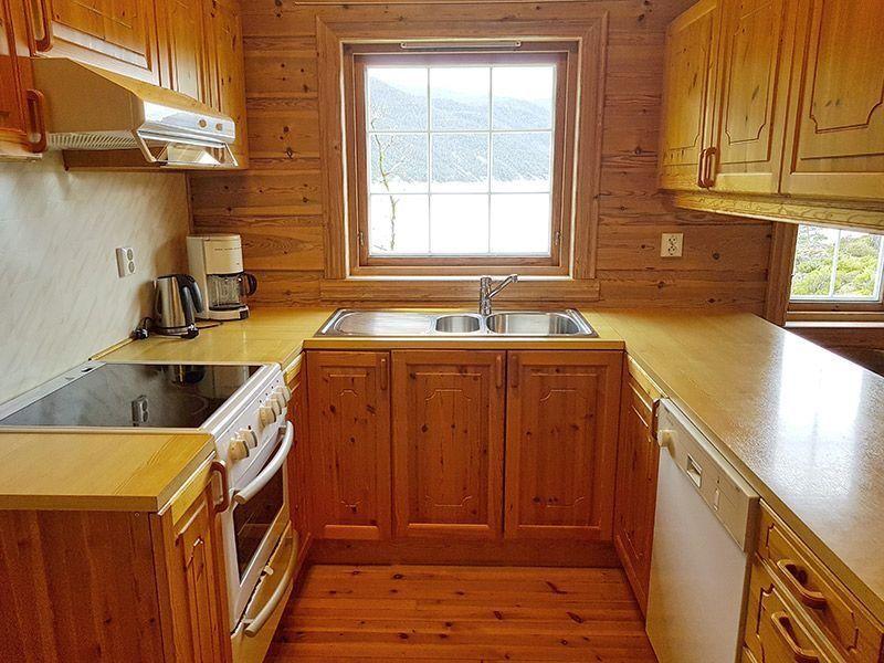 Angelreisen Norwegen 40652 Ropeid Küche